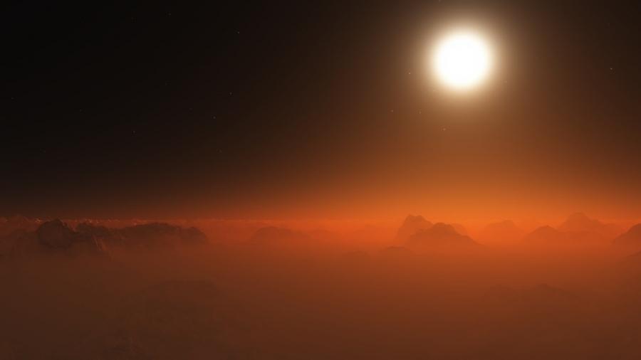 Orange Mist