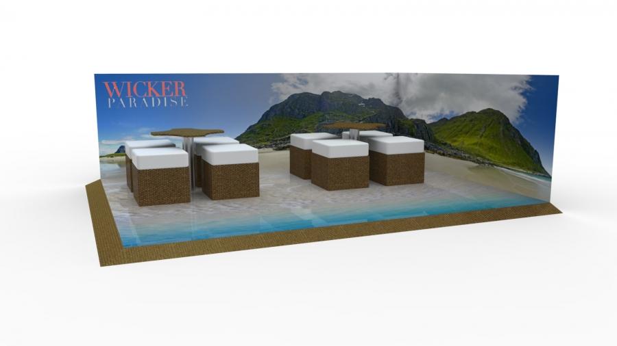 Presentation show floors concept