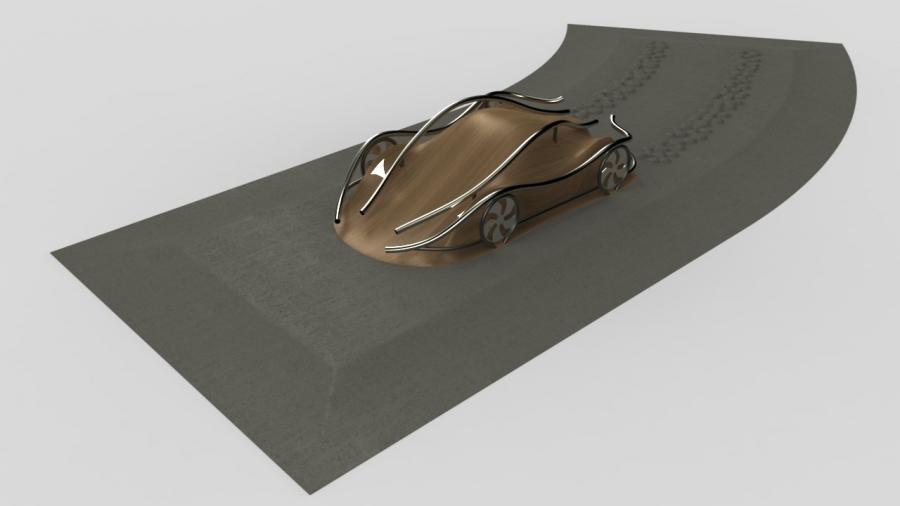 Skateable Car