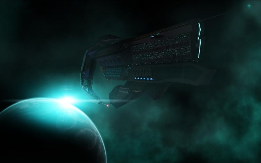 Taurus Space Ship Scene
